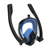 2019 Amazon Hot Upgraded Full Face Snorkel Mask, Silicone Anti-Fogging Scuba Diving Mask with Double Tube